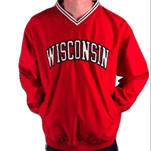 Pro Player Wisconsin Weather Proof Pullover Jacket